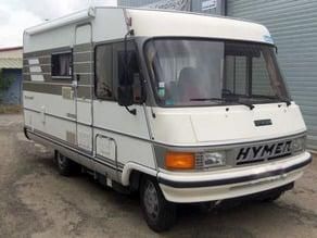 Bloque porte de camping car Hymer intégral (année 1990 environ)