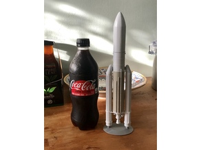Ariane V Rocket, 1/200 scale