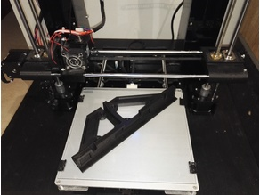 Anet A6 Back Frame, Stabilizer and Motor Fixation