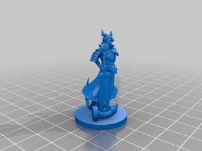 Paz - Tiefling Warlock - Dungeons & Dragons Mini