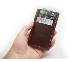 Leathercraft - Front Pocket Wallet Pattern