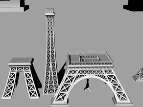 Eiffel Tower - Segmented