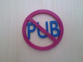 no pub !