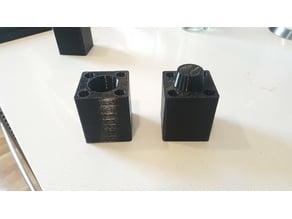 120mm Tinker-Friendly Lack Riser For Ikea Enclosure