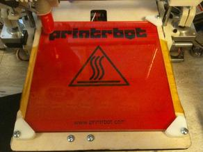 Glass clips for Printrbot