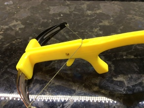 Improved trigger for mini Crossbow