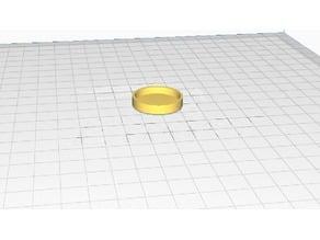 28mm Miniature Base (Hollow Bottom)