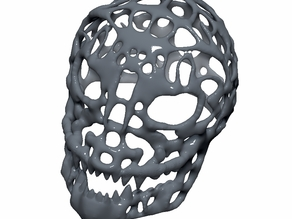 Monster Skull Voronoi