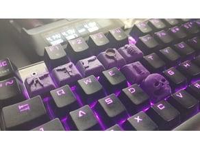 PUBG Cherry MX Keycaps