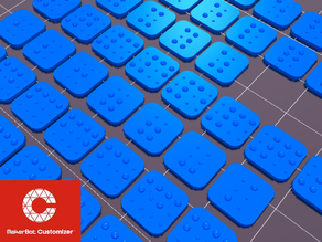 Braille Keyboard Covers v2.4 (customisable)