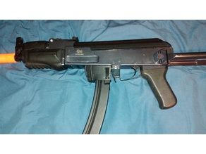 Airsoft Ak To MP5 Mag Adapter