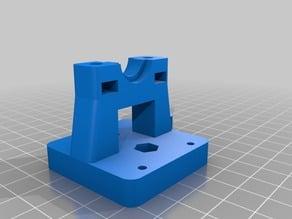 Bowden mount v2 for vslot gantryplates M3