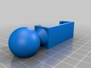 Ball Clamp for Kapor Wood