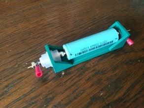 18650 resistance measurement holder