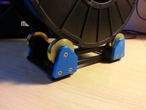 Adjustable Spool Roller