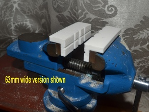 Vise soft jaw strips