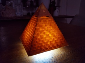 Eye of Providence - MDCCLXXVI (mini LED lamp)