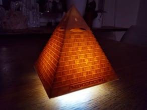 Eye of Providence - MDCCLXXVI (mini LED lamp)