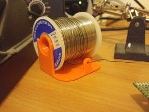 Soldering wire holder