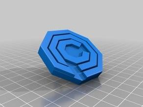 OCP key chain (Robocop)