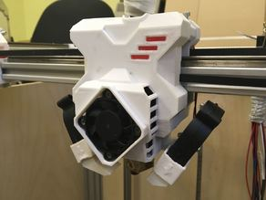Titan Aero extruder, Re-D-Bot  for rails