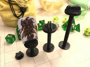 Variable Height Flying Pawn Bases