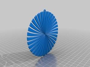 Swirled pendant