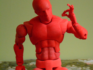 Open Source Action Figure with 70 Points of Articulation (aka Dexter)