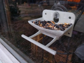 Suction Cup Mount - Window Bird Feeder