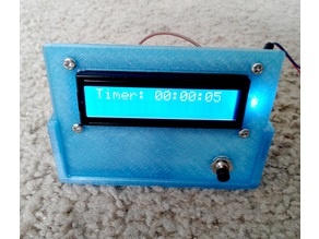 An enclosure with LCD front panel
