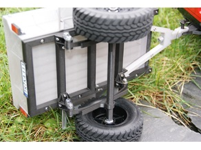 Axle for M416 trailer using 1150 bearings