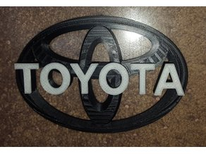 Toyota badge combo