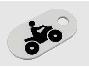 ATV Keychain
