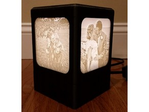 Lithopane Light Box