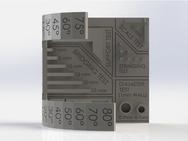 testa la qualità della tua stampante 3D