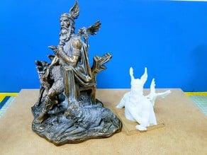 ODIN sculpture (top part)
