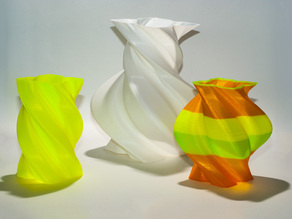 Torqued Vases