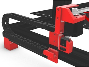 Wanhao D9 - Z-Axis Cable Chain + Mounts by Erlich