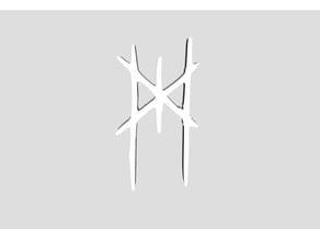 Myrkur logo + earrings