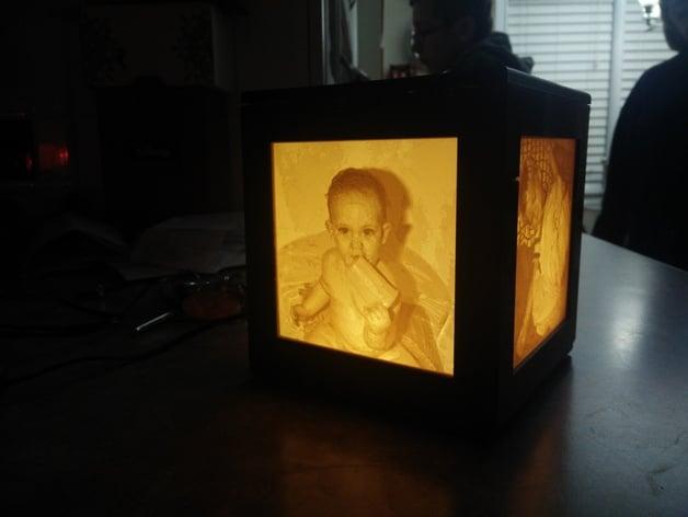 Lithophane Light Box Update V2 By Dirtsky Thingiverse