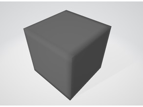 Cube for test 10x10x10mm