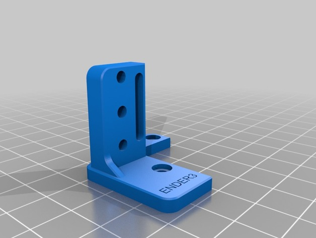 BlTouch Mount For Ender 3 (remix) - no supports needed by