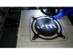 120mm Fan Grill MSI lettering