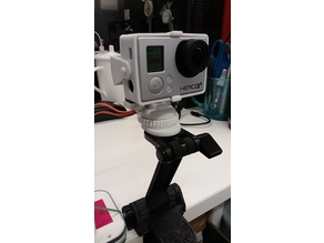 DIY GoPro BT Remote Panorama stand