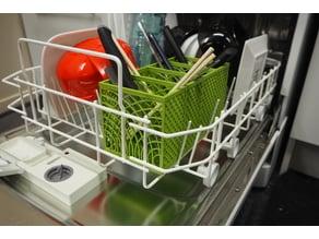 Dishwasher Basket for Silverware and CHOPSTICKS!