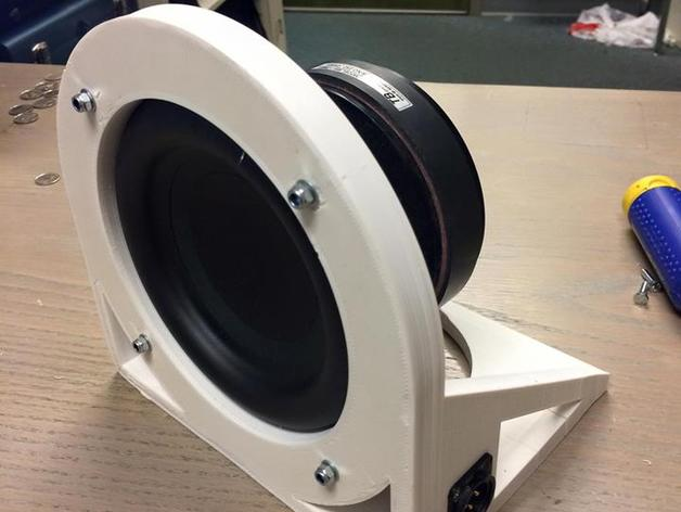 customizable sub kick microphone by alexwyyc thingiverse. Black Bedroom Furniture Sets. Home Design Ideas