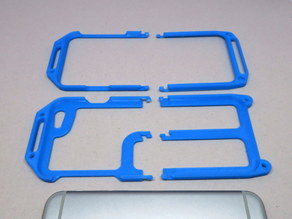 Extra Durable Iphone 6/6s Clamshell Phone Case Remix (separated)