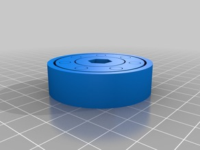barrel bearing printed in place
