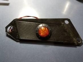 Polaris Ranger Turn Light Mounting Plate