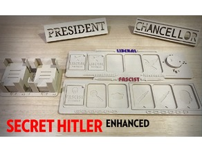Secret Hitler Board Game Enhanced